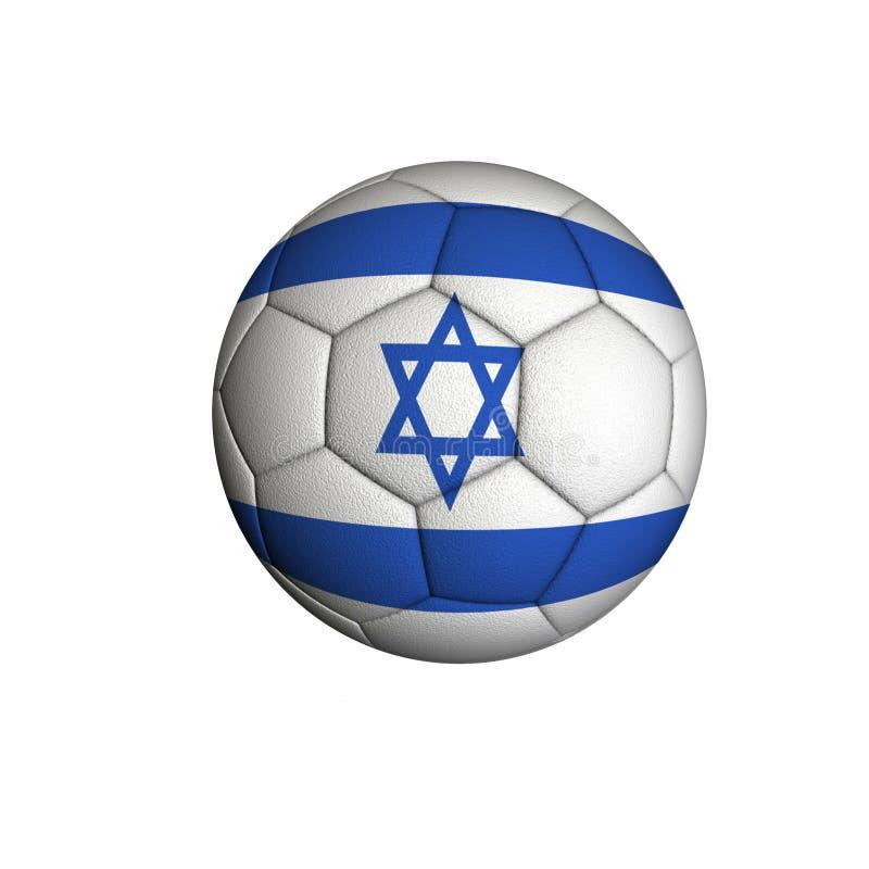Futebol de Israel ilustração royalty free