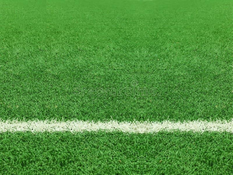 Futebol do campo fotografia de stock royalty free