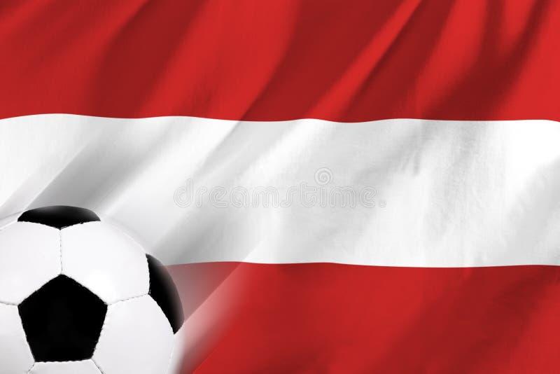 Futebol em Áustria ilustração stock