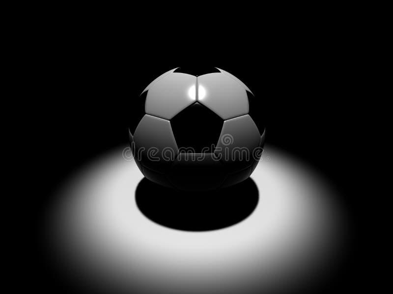 Futebol, esfera de futebol ilustração do vetor