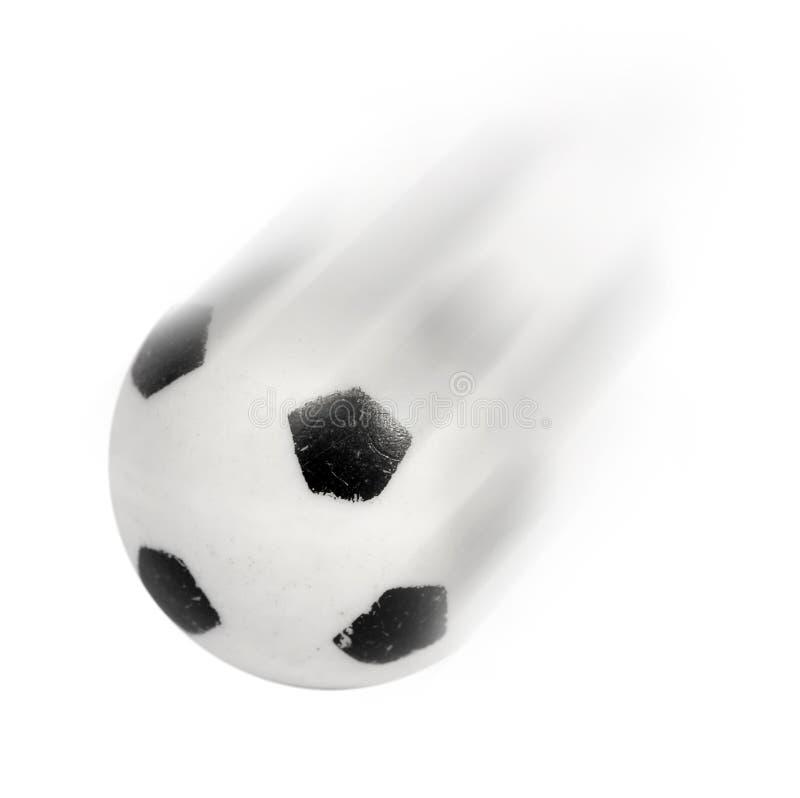 Futebol no movimento imagem de stock