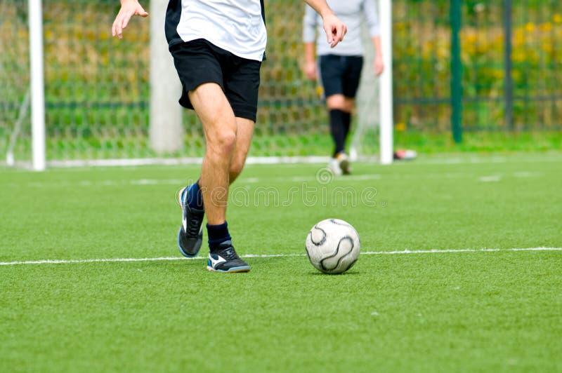 Futebol ou futebol fotografia de stock royalty free