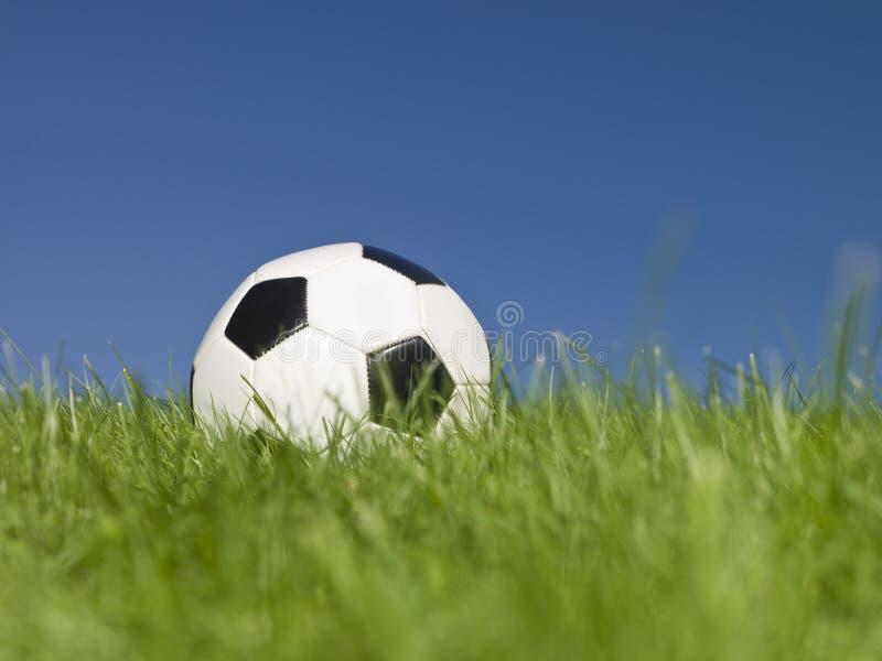 Futebol preto e branco imagens de stock