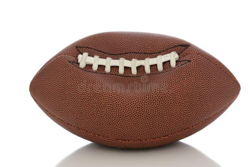Futebol profissional desinflado imagem de stock royalty free