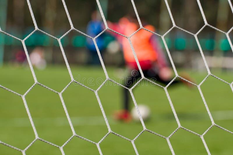 Futebol - um fundo abstrato. imagens de stock royalty free