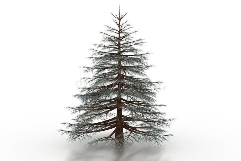 futerkowy drzewo ilustracji