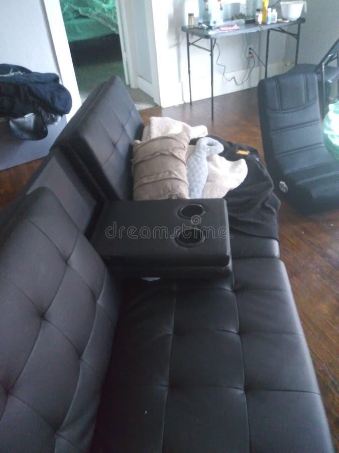 futon royalty-vrije stock afbeelding