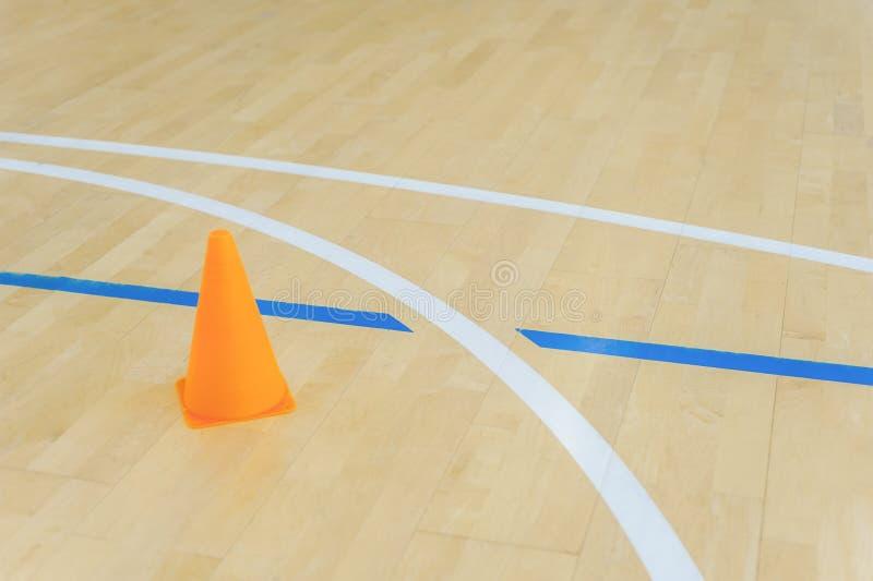 Futsal, πετοσφαίριση, χάντμπολ, καλαθοσφαίριση, ποδοσφαίρου και γραμμές πατωμάτων αιθουσών στοκ φωτογραφία με δικαίωμα ελεύθερης χρήσης