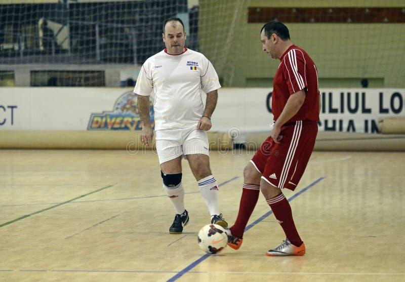 Futsal action stock photos