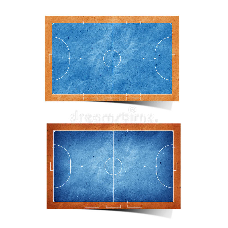 Free Futsal Field Recycled Paper Stock Images - 19870734