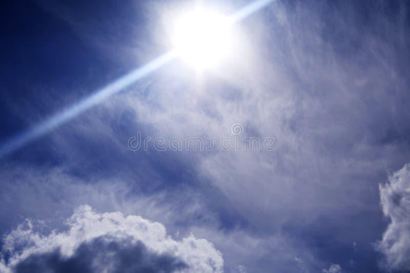 Futur ciel photographie stock