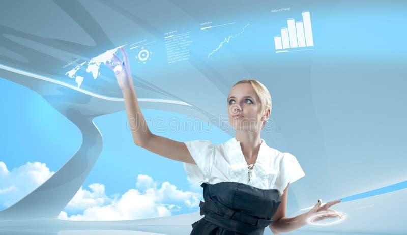Futur concept d'affaires photos stock