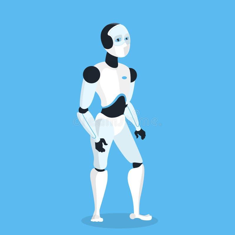 Futur robot d'isolement illustration libre de droits