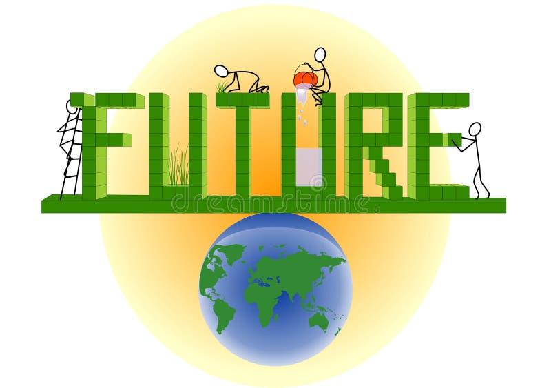 Download Future stock vector. Illustration of sustaining, black - 17157277