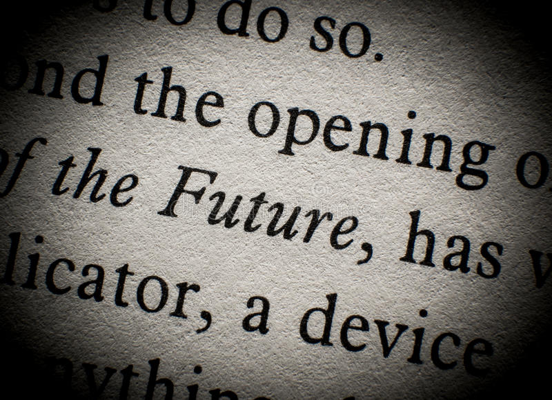 Download The future stock image. Image of text, words, expression - 28056601