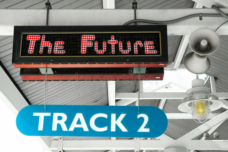 The Future stock photos