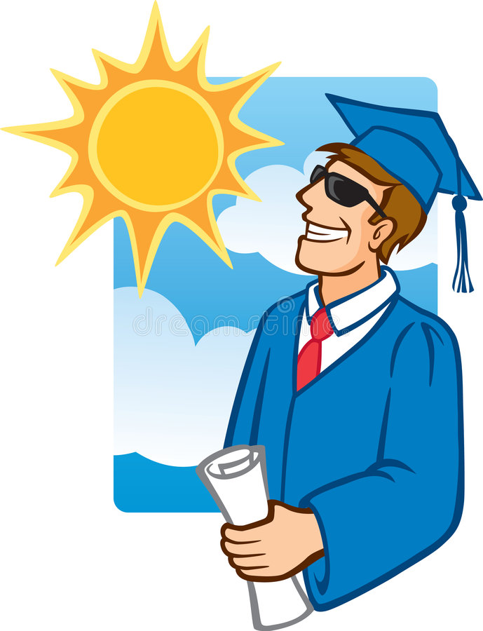 Download The Future Is Bright stock vector. Illustration of diploma - 7369880