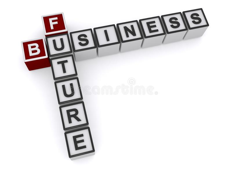 Future business vector illustration