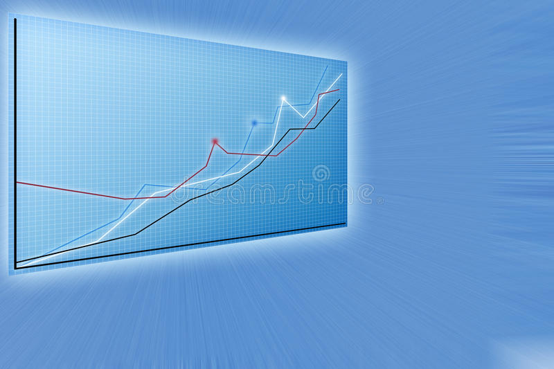 Future Business Solutions,   Modern Charts Stock Photos