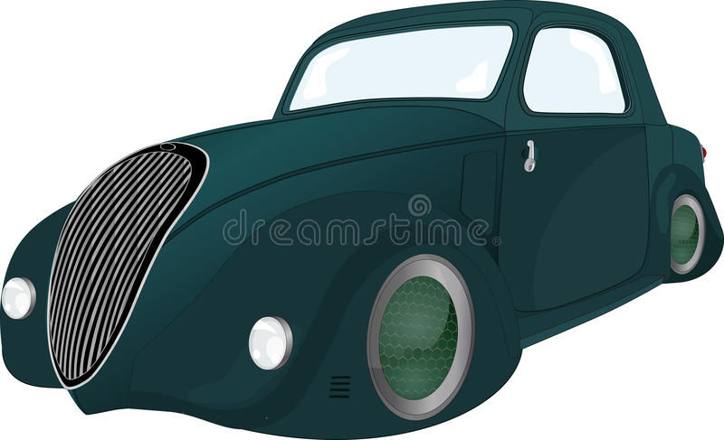 Download The future car stock vector. Illustration of elegance - 12222705