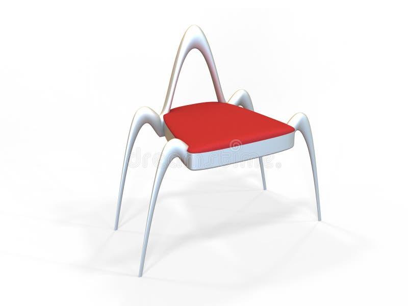 Future Chair stock illustration. Illustration of garden - 28654378