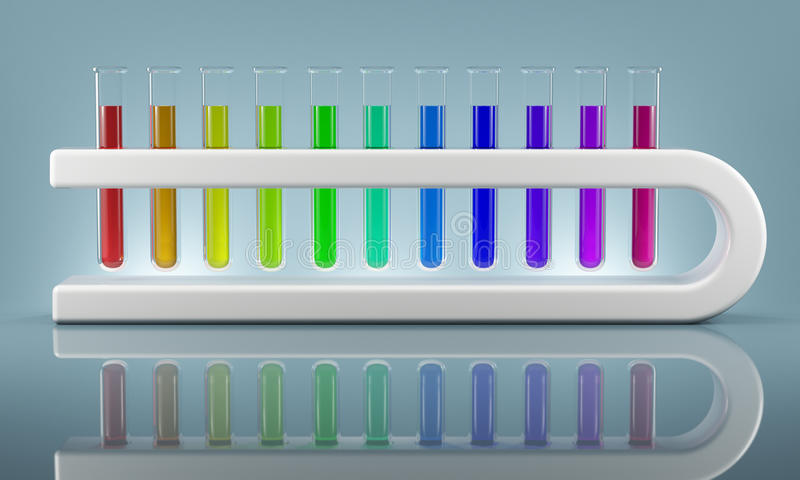Future of Chemistry royalty free stock photos