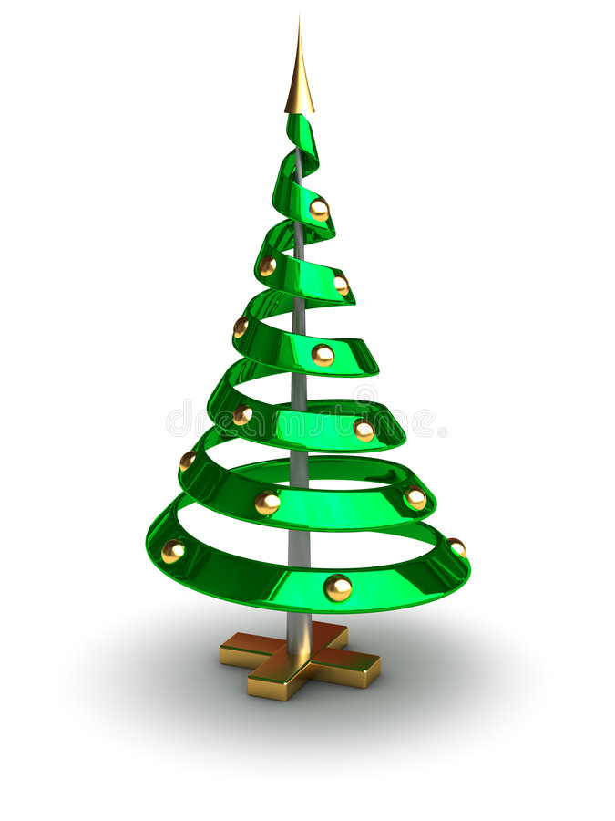 Download Future Christmas Tree Royalty Free Stock Photo - Image: 3868035