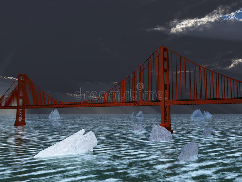 Download Future Climate Change stock illustration. Illustration of floe - 39509632