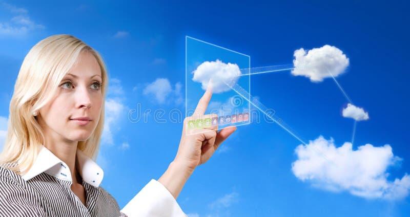 Download Future cloud computing stock photo. Image of computing - 20771234