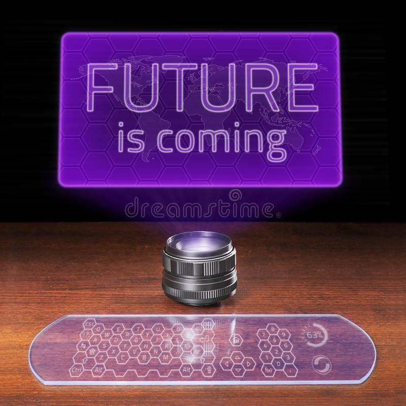 Download Future is coming stock illustration. Illustration of diagram - 22097960