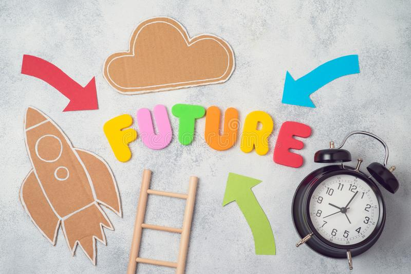 Future concept royalty free stock photo