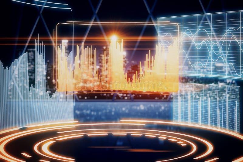 Future concept vector illustration