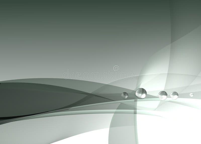 Future conception de fond illustration stock