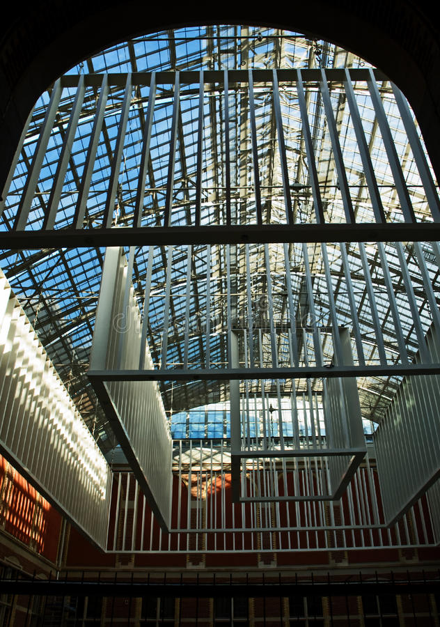 Future Entrance Hall, Rijksmuseum stock photo