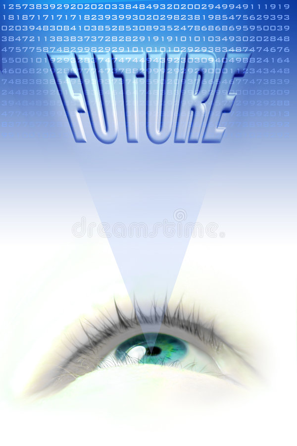 Future eye stock illustration
