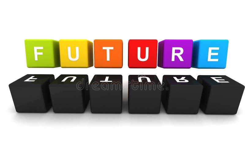 Download Future Fonts Box Design stock illustration. Illustration of future - 34985541