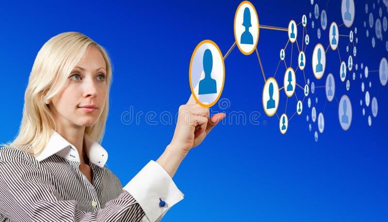 Future gestion de réseau photos libres de droits