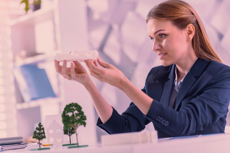 Architect Estimating Project Cost Stock Image Image Of