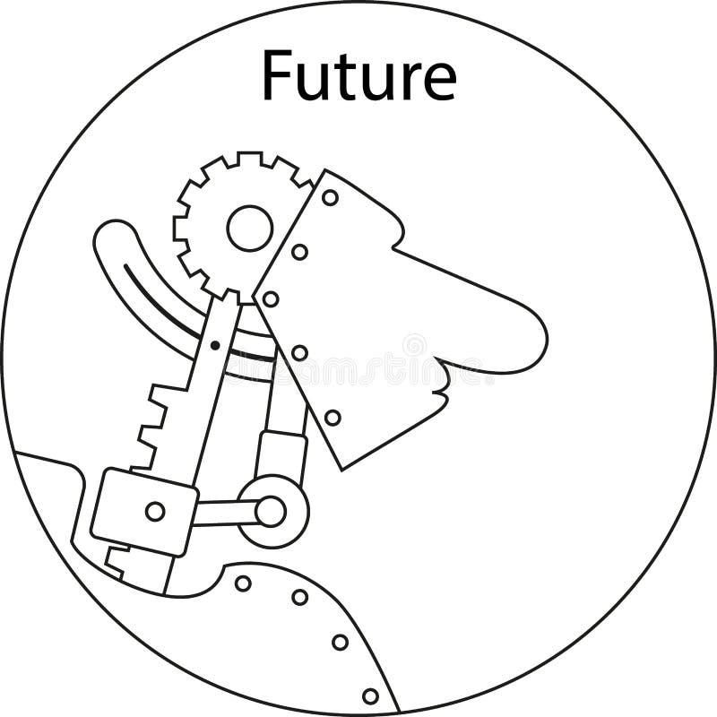 future illustration libre de droits