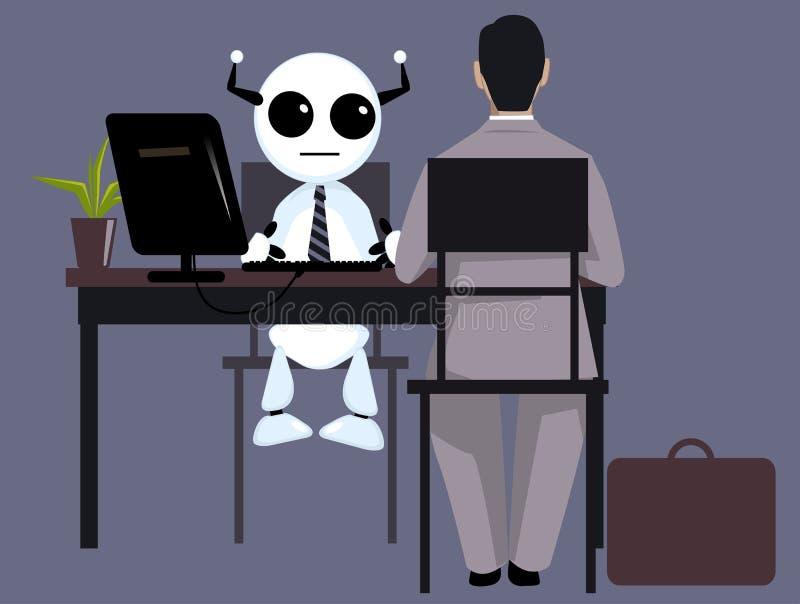 Future of human resources stock illustration