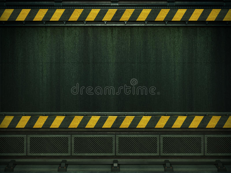 Download Future interior wall stock illustration. Illustration of industry - 20382289