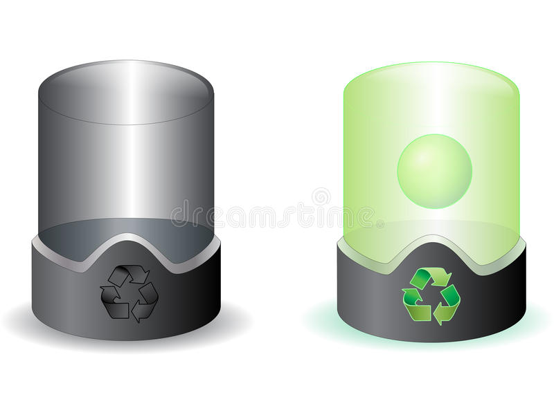 Download Future Recycle Bin Stock Images - Image: 13136354