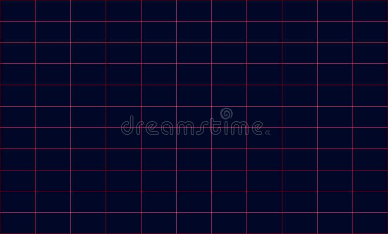 Future retro line background of the 80s. Vector futuristic synth retro wave illustration in 1980s posters style. stock photography