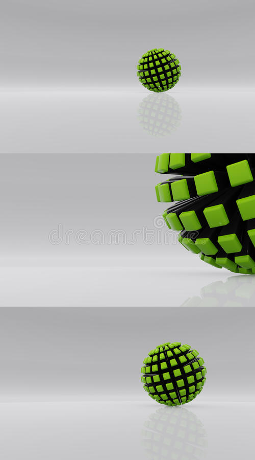 Future sphere v4 stock photos