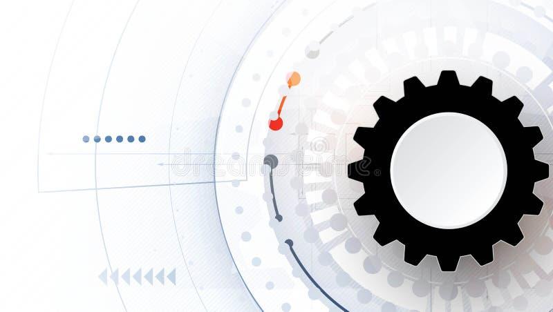 Future technologie scientifique Pour la présentation d'affaires Insecte, illustration stock