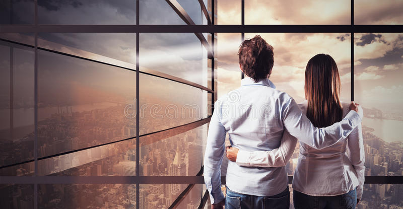 The future together royalty free stock photo