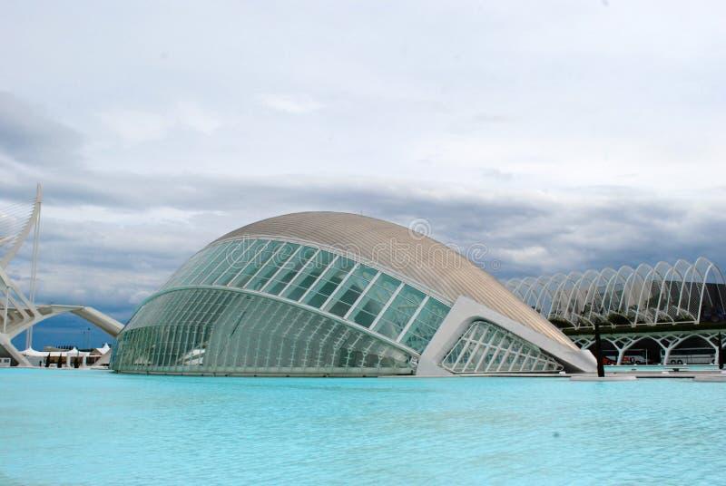 Future in Valencia stock image