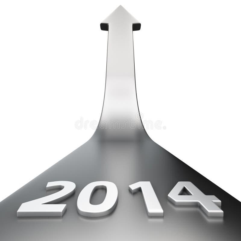 Future year vector illustration