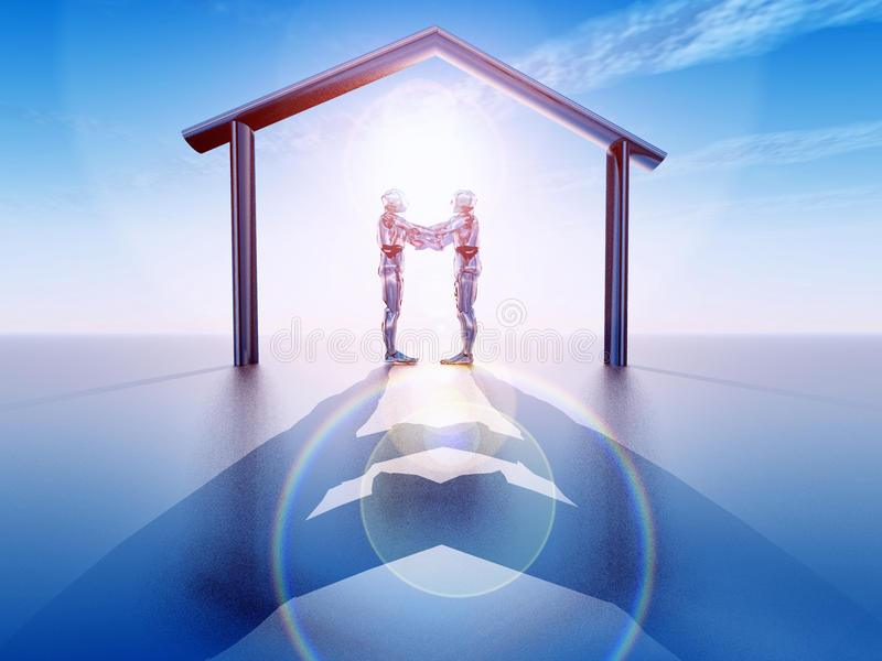 Download Futuristic stock illustration. Image of architecture - 20150808