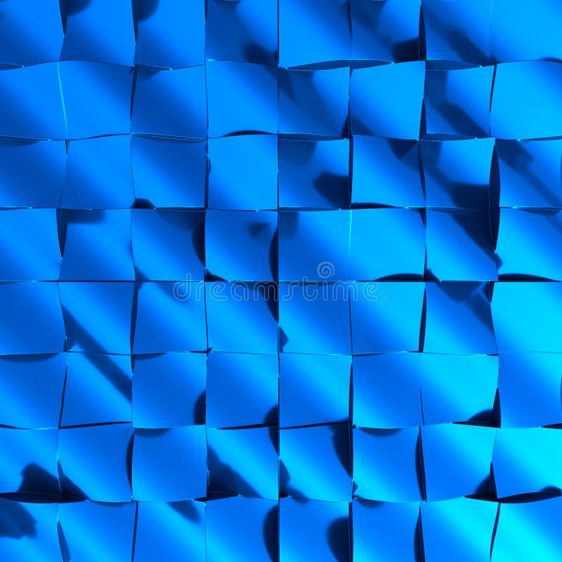 Futuristic abstract background in blue royalty free stock image